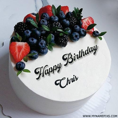 Astonishing Happy Birthday Chris Cake Funny Birthday Cards Online Eattedamsfinfo