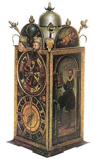 iron clock, Strassburg, XVI