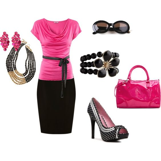 Pretty in Pink, created by pbusickia on Polyvore