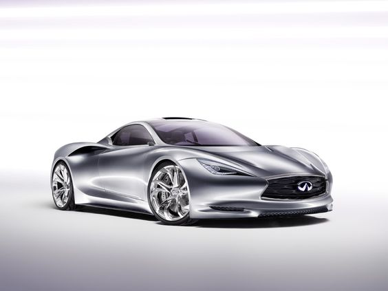 Infiniti Emerg-E range-extended electric vehicle.  Much better looking than the Volt.