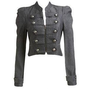 Military style jacket military jacket women - I loved this look