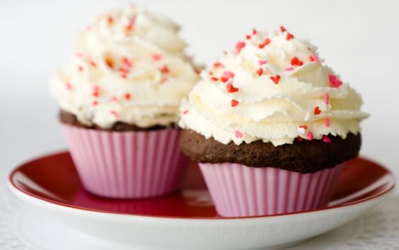 Chocolate Spice Cupcakes for 2