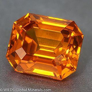 Orange Yellow Sapphire