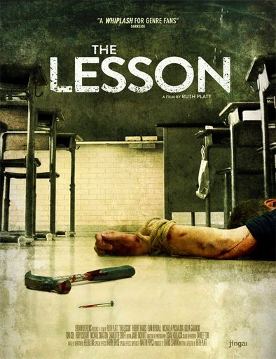 Ver The Lesson (2015) online Pelicula Completa en Español #Películas  Fin y Joel son dos adolescentes salvaje acostumbrados a hacer todo tipo de gamberradas a los que conviven a su en torno a. Sin bloqueo, su mala educación está a punto de tomar un viraje cuando uno de sus profesores, decide enseñarles una amonestación que nunca olvidarán…      Ver película online  [ 2015, VOSE, HD-R ] [Calificación:  NR  – MPAA]     Opción 1   Opción 2   Opción 3   Opción 4   Online/Descarga        ..