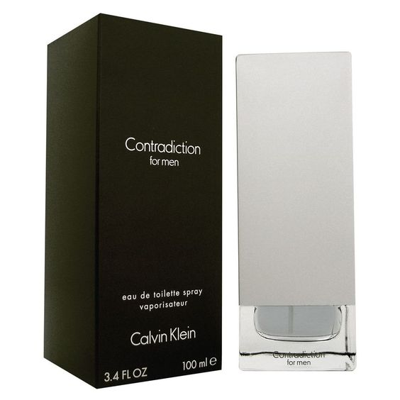 Calvin Klein Contradiction for Men EDT 3.4 oz/100 ml, New In Box #CalvinKlein