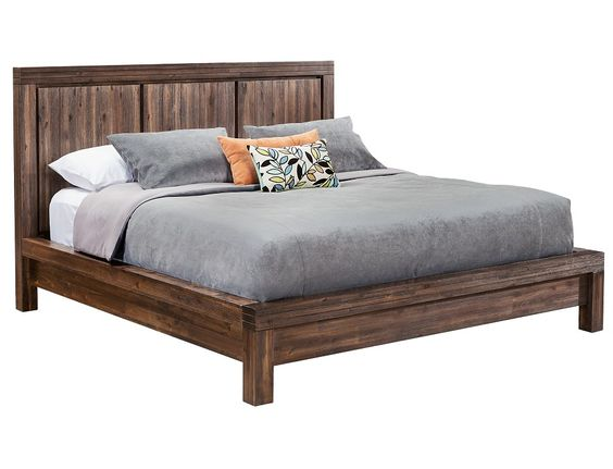 Slumberland Prairie Collection Brown Queen Platform Bedstead Homey Pinterest Beds