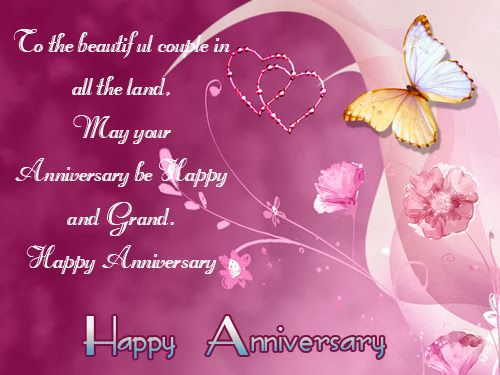 Wedding anniversary wishes for most romantic couples