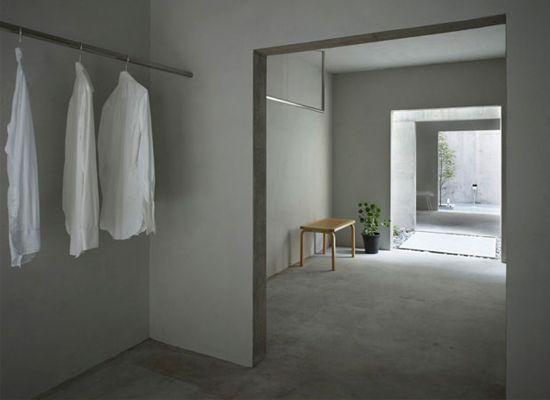 Wardrobes japanese minimalism and door frames on pinterest for Japanese minimalism