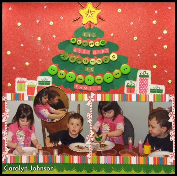 Picture This DT. Christmas layout.