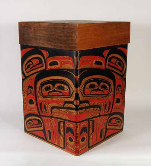 Bentwood box by Lawrence Rosso, my sister said he breathed magic into the wood he worked with.