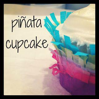 candy + cupcake.