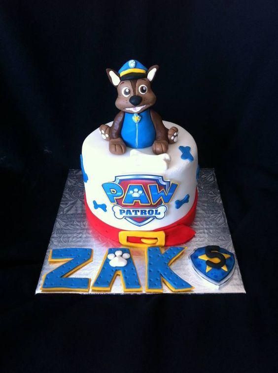 paw patrol /pat patrouille cake creation maman gateau