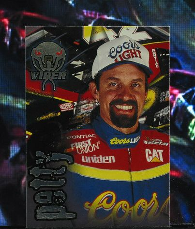http://nascarniche.blogspot.com/  Kyle Petty 1996 Wheels Viper Trading Card #14 Base Set Nascar