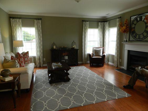 1st floor living room.
