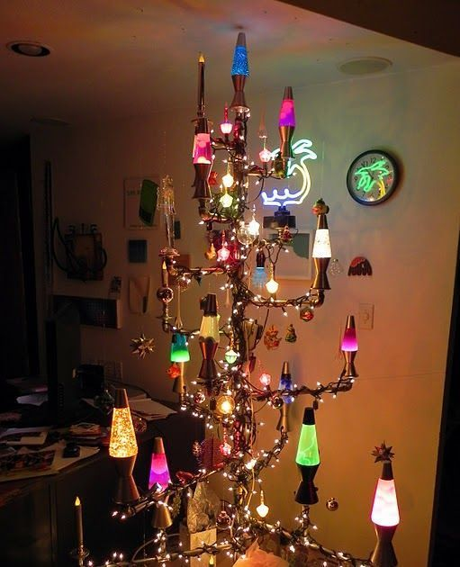 Lava Lamp Christmas Tree Plumbing Tree Galvanized Plumbing Parts Lava Lamps Bubble Lights Strings Of White Lig Cool Lava Lamps Lava Lamp Christmas Lights