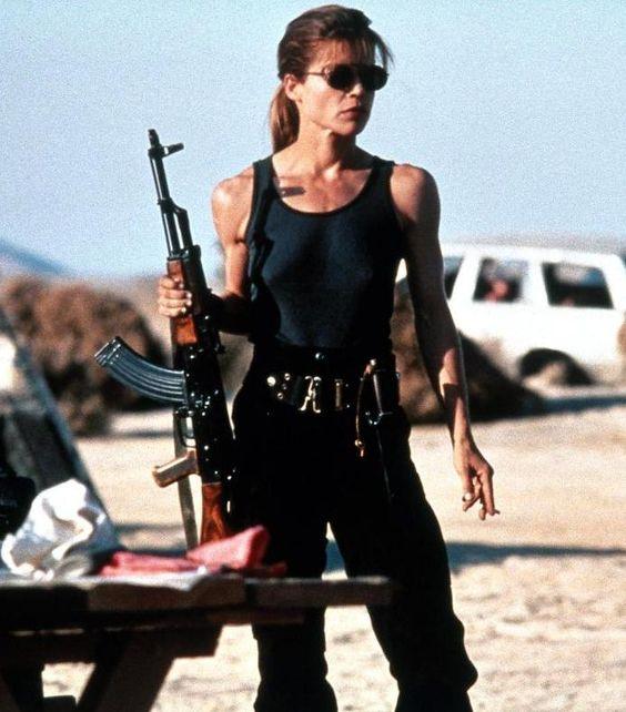 Linda Hamilton spielt wieder Sarah Connor Das Terminator