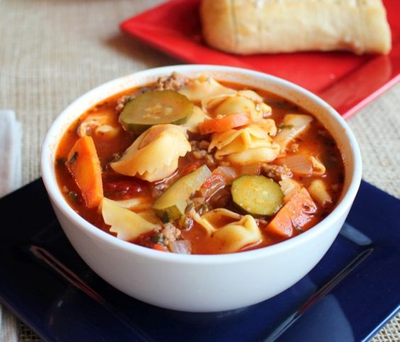 Delicious Italian Stew. The perfect comfort food for a cold winter day!