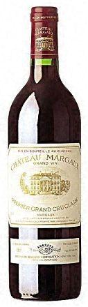 Château Margaux (Francia). Otro gran vino de Burdeos, que se puede llegar a pagar 3.000 dólares la botella.