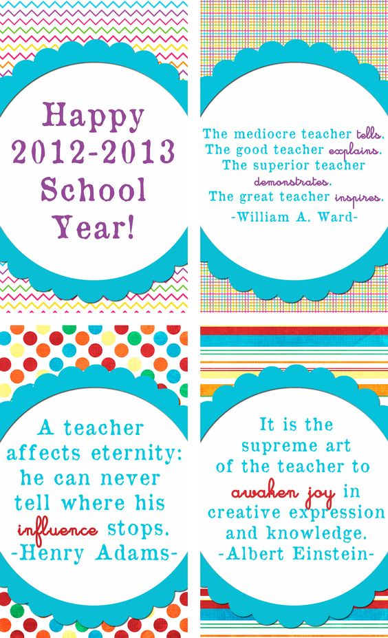Back To School Gift Tags at Sweet Rose Studio