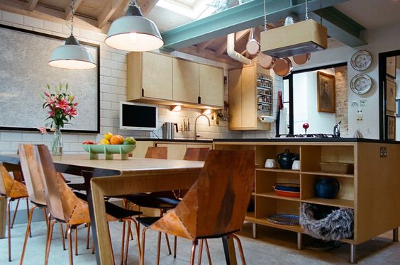 kitchen : Cucina moderna di Tom Kaneko Design & Architecture
