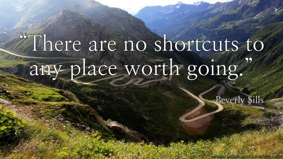 """""""There are no shortcuts ..."""" - Beverly Sills [1920x1080]"""