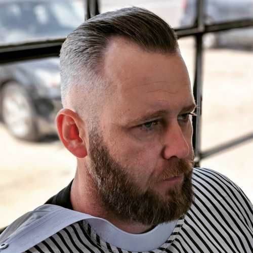 50 Classy Haircuts And Hairstyles For Balding Men In 2020 Balding Mens Hairstyles Haircuts For Balding Men Mens Facial Hair Styles