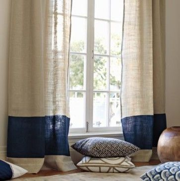 Curtains Ideas colorblock curtains : Color Block Curtains - Curtains Design Gallery
