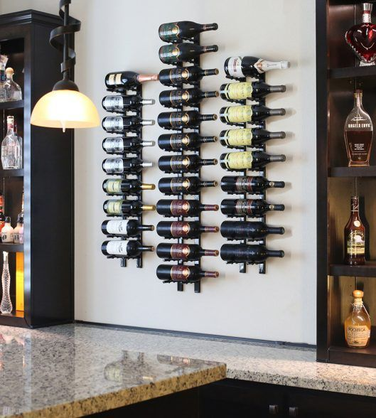 Store Your Best Bottles In Vinotemp S Designer Series Wall Mounted