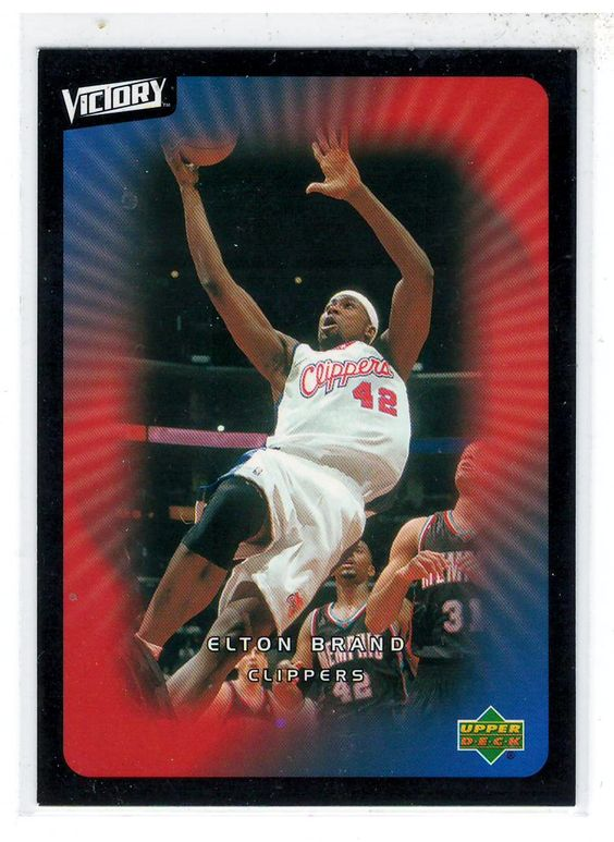 Sports Cards Basketball - 2003 UD Victory Elton Brand