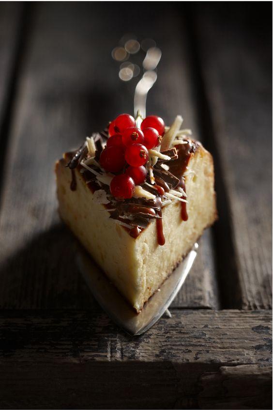 Boodschappen - Cheesecake met chocoladekrullen