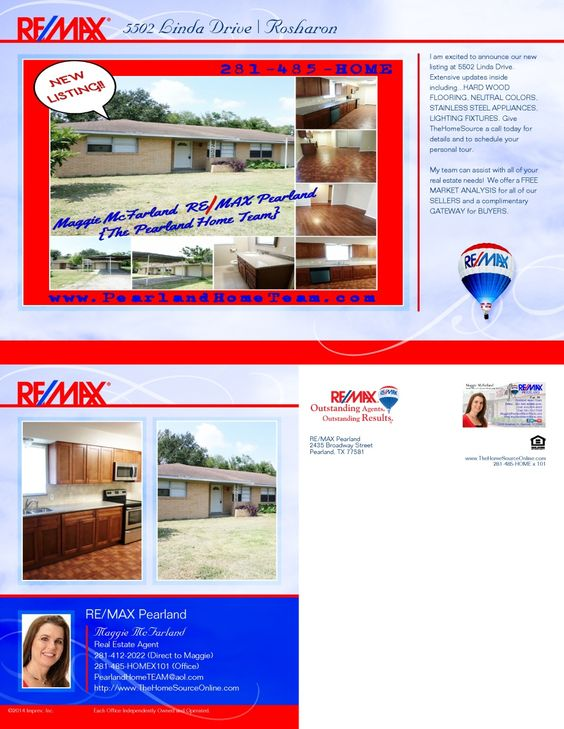5502 Linda Drive Rosharon TX 77583 MLS # 64052743 $109,990 www - real estate market analysis