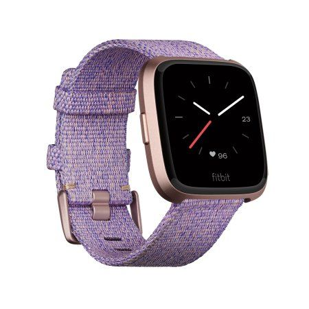 Fitbit Versa Special Edition Lavender Woven Fitness Smart