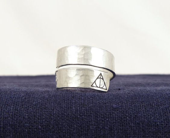 Harry Potter  Deathly Hallows Symbol  by fromtheinternet on Etsy, $10.00