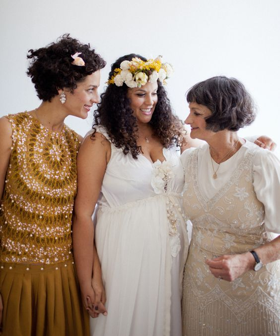 with mum & sis / @justinablakeney photographed by @Jennifer Young & @connie lyu.