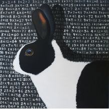 Robert Deyber | ACRYLIC | Rabbits Multiply