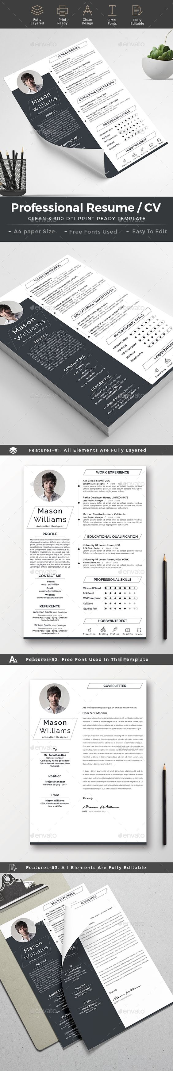 resume sample phd%0A Resume Template  u     FREE Cover Letter  creativework      Resume Templates    Pinterest   Free cover letter  Resume template free and Template