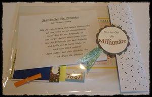 Kreatives aus Papier Stampin Up Starterset für Millionäre