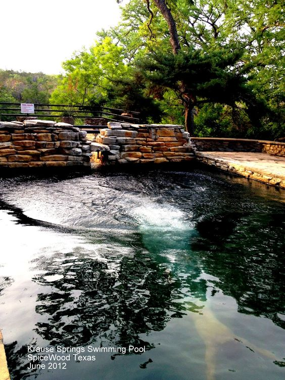 Texas Spring And Pools On Pinterest