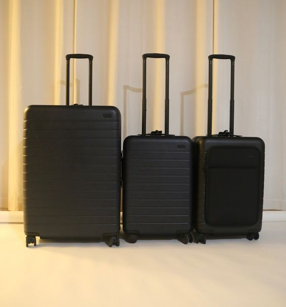 Are Away Suitcases Worth The Hype Away We Go With The Large The Bigger Carry On And More Luggage Reviews Luggage Suitcase
