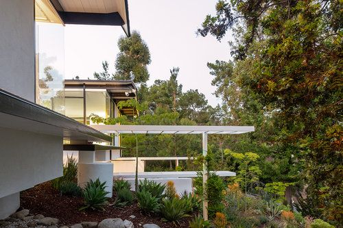 Leased The Bodger Residence Thornton Ladd 1955 Unique California Property Residences Private Patio House Design