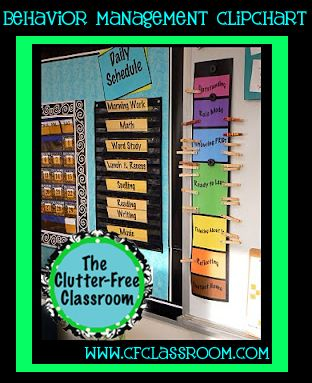 Clutter-Free Classroom: Best. Thing. Ever: Classroom Management