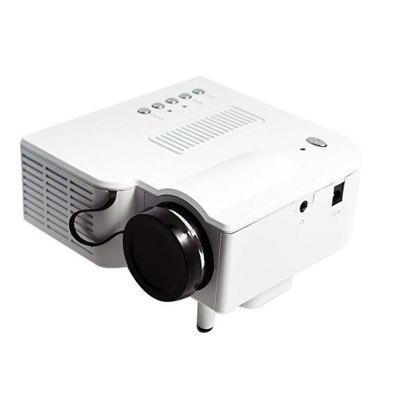 Multimedia UC28 1080P Full HD Portable Mini LED Projector projecteur Home Theater HDMI VGA AV USB SD Remote Control proyector