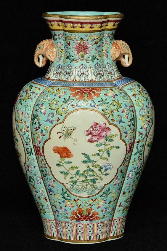 Chinese Porcelain Vase Qianlong Mark Amp Period Chinese Porcelain Pinterest Porcelain Vase