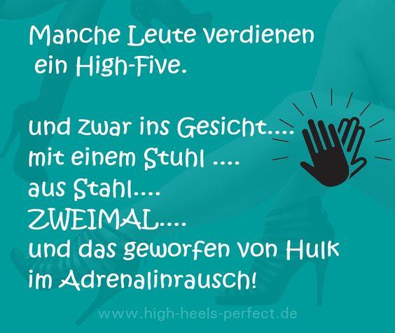 High-Five - Sprüche, Zitate und Weisheiten