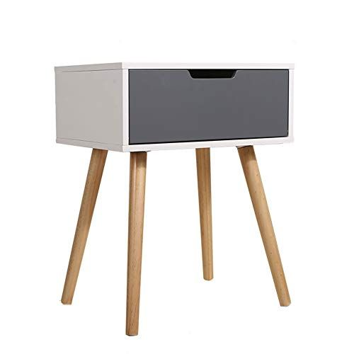 Tables Corner Table Solid Wood Side Cabinet Magnetic Touch Multi