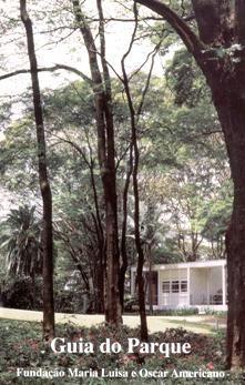 Fundação Maria Luísa e Oscar Americano. Capa do Guia do Parque - Roteiro de visita de um dos primeiros parques modernos de São Paulo.