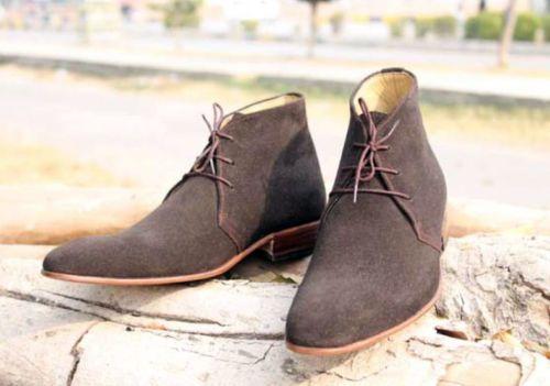 Handmade Men Chukka Boots Stylish