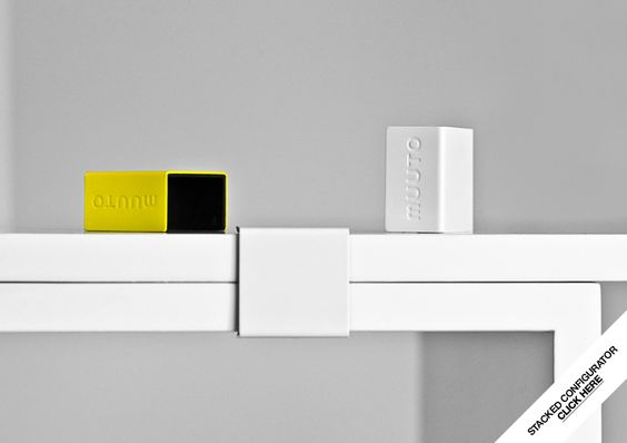 Muuto - Designs - Storage - Stacked Shelf System - Designed by JDS Architects - muuto.com