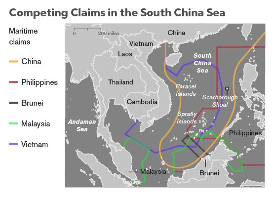 How China's artificial islands led to tension in the South China Sea