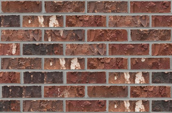 Acme brick architectural color selection st vincent for Brick selection for houses